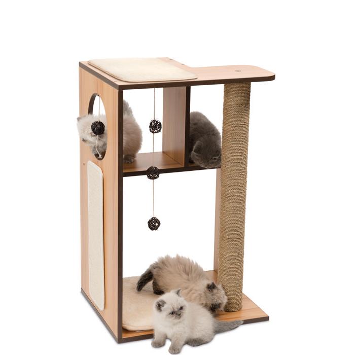 vesper v box large katzen spielm bel von vesper g nstig bestellen. Black Bedroom Furniture Sets. Home Design Ideas