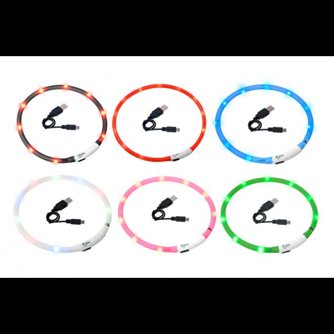 Karlie Flamingo Visio Light Leuchthalsband für Hunde
