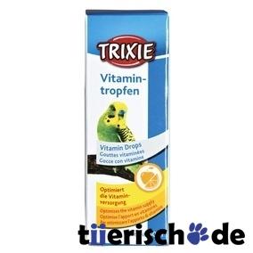 Trixie Vitamin-Tropfen für Vögel 5031