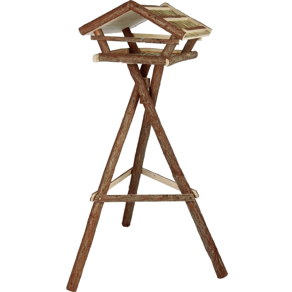 vogelhaus naturholz mit st nder 55665 von trixie g nstig. Black Bedroom Furniture Sets. Home Design Ideas