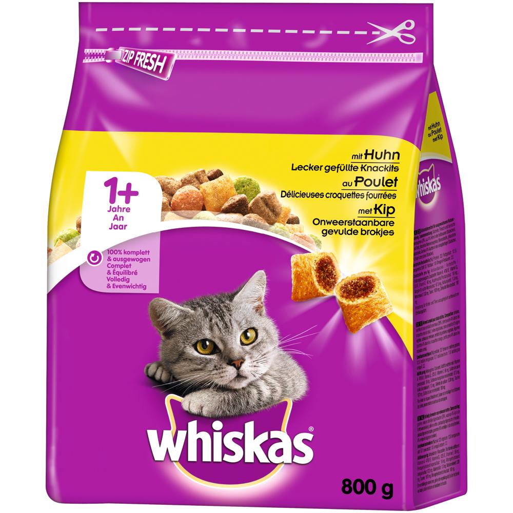 Whiskas Katzenfutter Trockenfutter Adult 1+, Bild 9