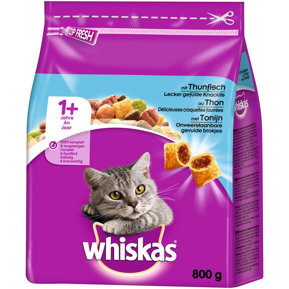 Whiskas Katzenfutter Trockenfutter Adult 1+, Bild 10