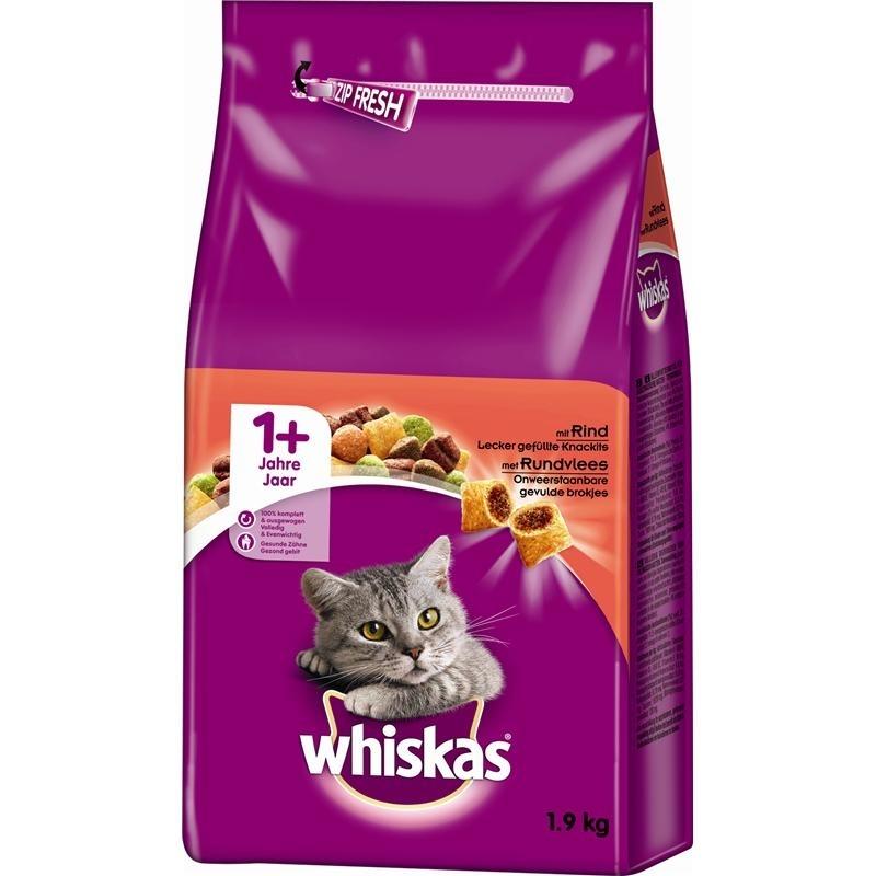 Whiskas Katzenfutter Trockenfutter Adult 1+, Bild 4