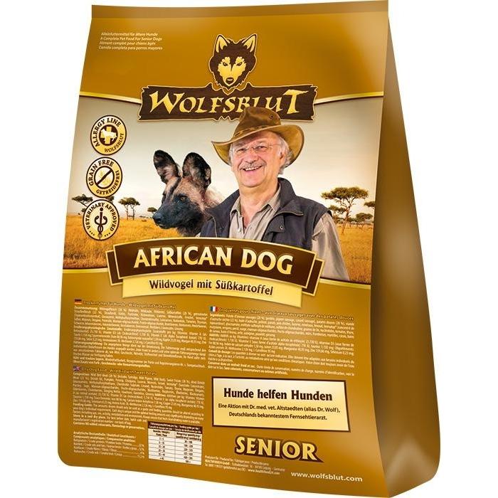 wolfsblut african dog senior hundefutter von wolfsblut g nstig bestellen. Black Bedroom Furniture Sets. Home Design Ideas