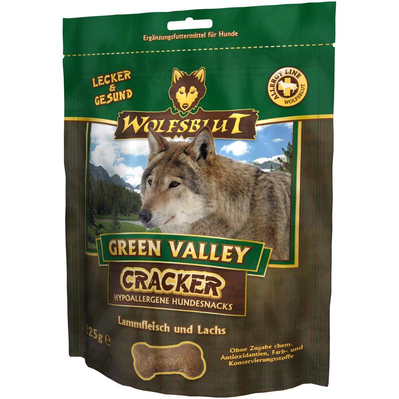 wolfsblut green valley cracker 225 g preisvergleich. Black Bedroom Furniture Sets. Home Design Ideas