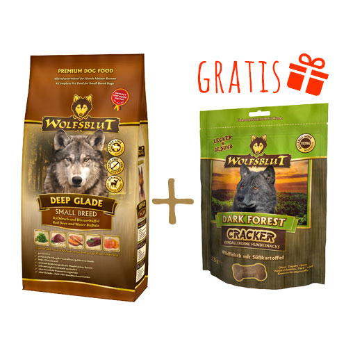 Wolfsblut Deep Glade + Gratis Dark Forest Cracker, Bild 3