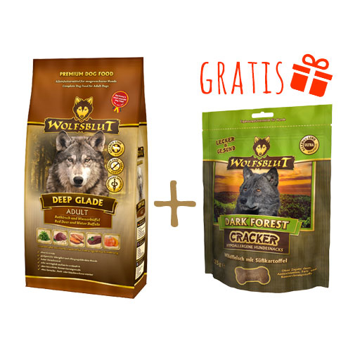 Wolfsblut Deep Glade + Gratis Dark Forest Cracker, Bild 4