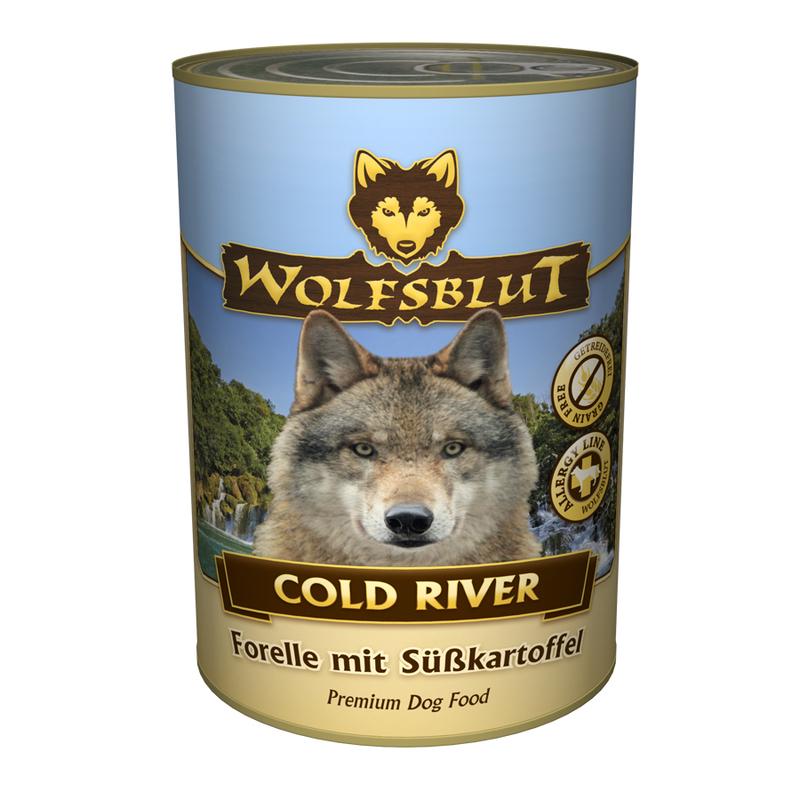 wolfsblut dose cold river von wolfsblut g nstig bestellen. Black Bedroom Furniture Sets. Home Design Ideas