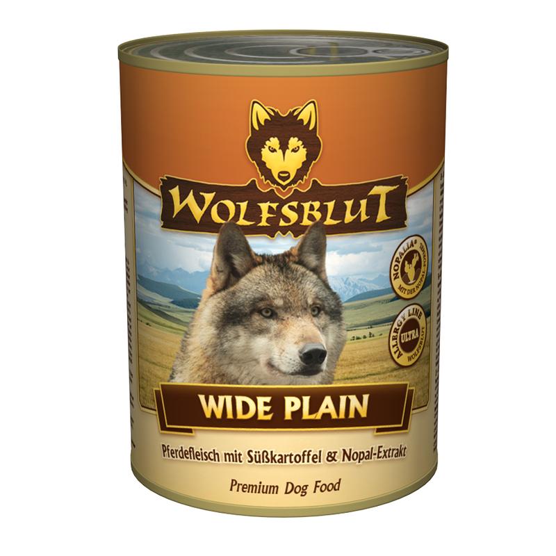 wolfsblut nassfutter dose wide plain von wolfsblut g nstig bestellen. Black Bedroom Furniture Sets. Home Design Ideas