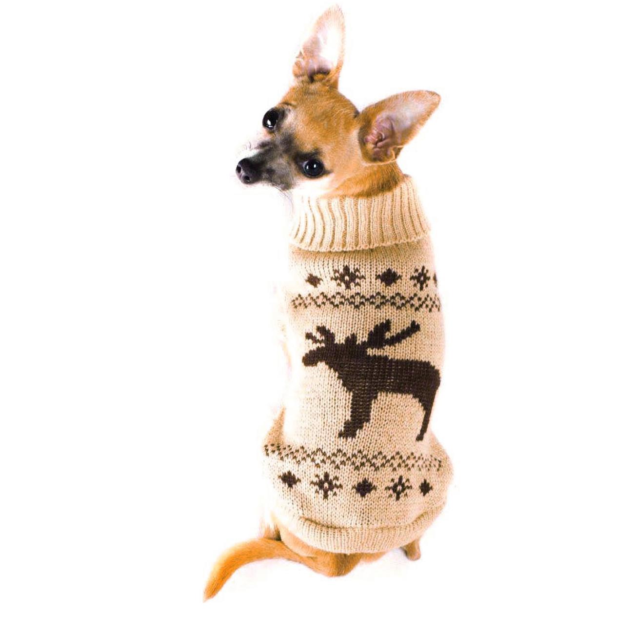 Wolters Strickpullover für Hunde mit Elch Motiv, Bild 2
