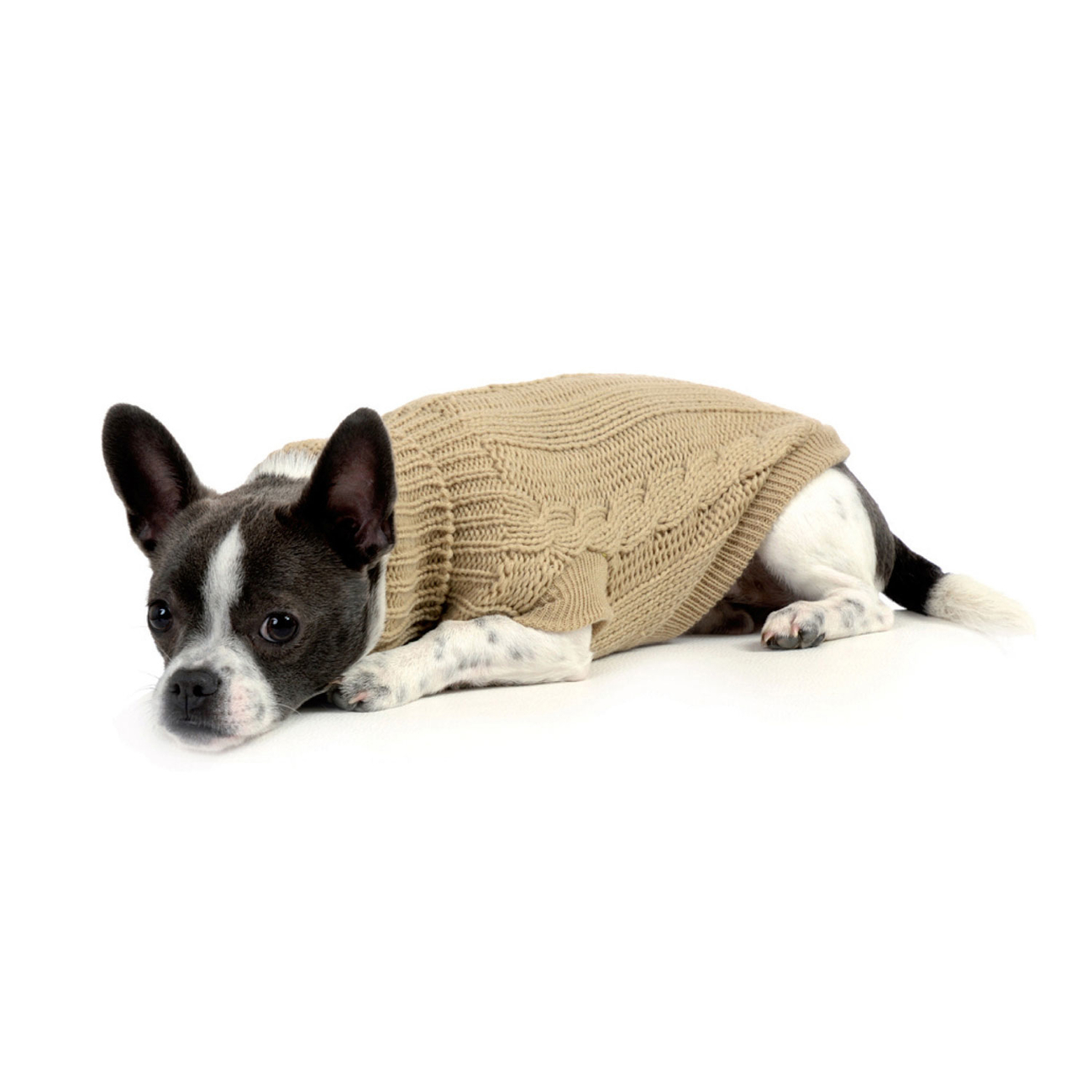 Wolters Zopf-Strickpullover für Hunde, Bild 10