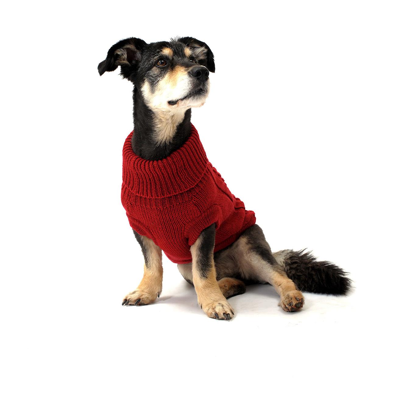 Wolters Zopf-Strickpullover für Hunde, Bild 13