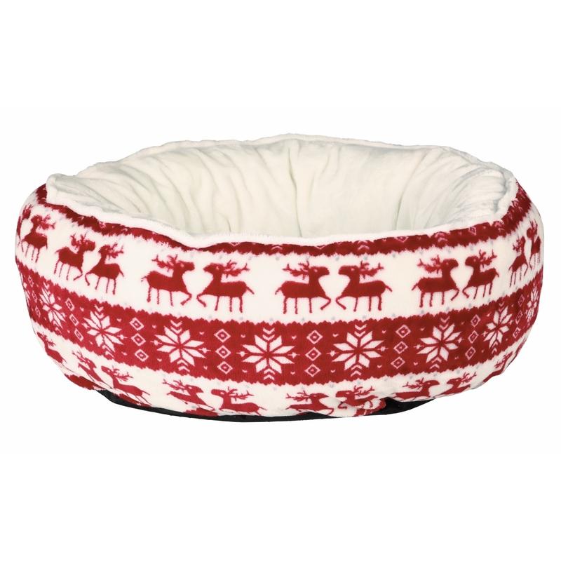 Trixie Hundebett Katzenbett Weihnachten Santa 92466