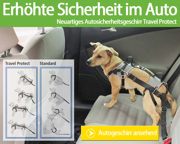 Kerbl Autosicherheitsgeschirr Travel Protect