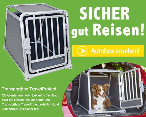 Kerbl Alu Transportbox Travel Protect