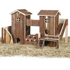 abenteuerlandschaft bosse f r kaninchen meerschweinchen 61722 von trixie g nstig bestellen. Black Bedroom Furniture Sets. Home Design Ideas