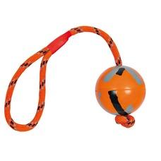 Ball mit Seil aus Naturgummi Hundespielzeug