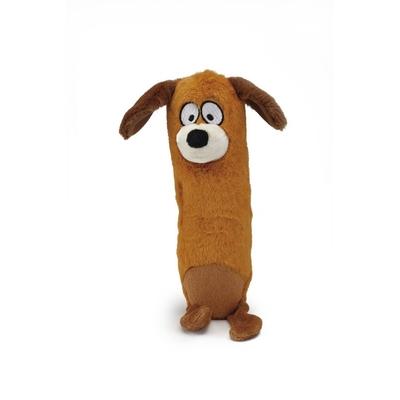 BEEZTEES Hundespielzeug Wöfel aus Plüsch und Gummi
