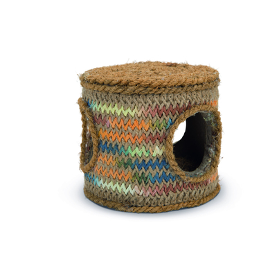 Beeztees Nagerspielsnack Spieltonne Kokosnuss Seil