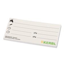Beschriftungskarte für Eimerabdeckung