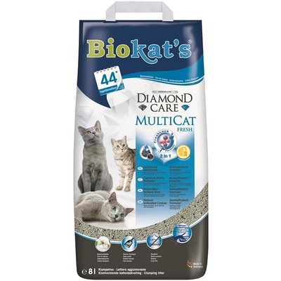 Biokats Diamond Care MultiCat Fresh Katzenstreu