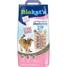 Biokats Duo Active fresh Katzenstreu mit Babypuderduft