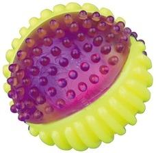 Leuchtball, Blinkball für Hunde Thermoplastisch
