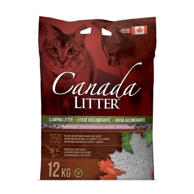 Canada Litter Katzenstreu mit Lavendel
