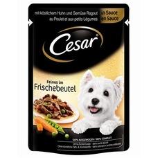 Cesar Feines im Frischebeutel Hundefutter