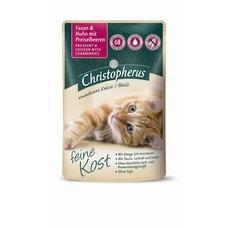 Christopherus feine Kost Katzenfutter Adult