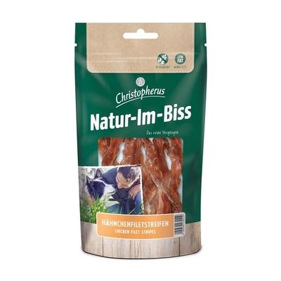 Christopherus Hundesnack Natur-Im-Biss Hähnchenfiletstreifen