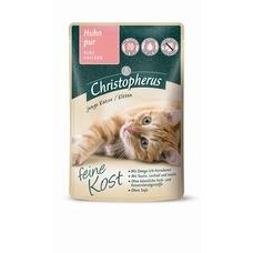 Christopherus Katzenfutter feine Kost Nassfutter Portionsbeutel Kitten