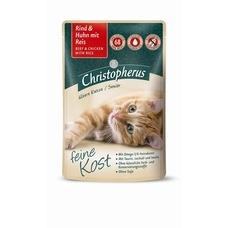 Christopherus Senior Nassfutter für Katzen