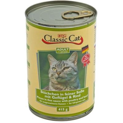 Classic Cat mit Soße Dosen Katzenfutter