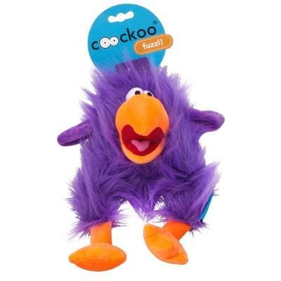 Coockoo Fuzzl Hundespielzeug mit Quietscher