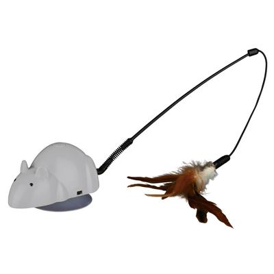 Crazy Mouse mit Wechselspielzeugen