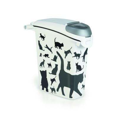 Curver Futterdose Futterbehälter Silhouette Katze
