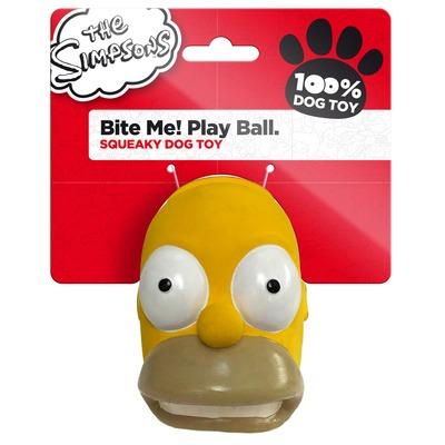 Die Simpsons Latex Hundespielzeug Homer