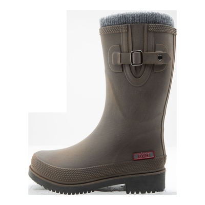 Doggo Damen Winter-Gummistiefel - Lotte Brushed gefüttert