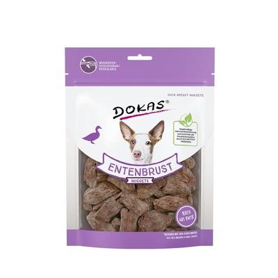 Dokas Hunde Snack Entenbrust Nuggets gefriergetrocknet