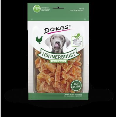 Dokas Hunde Snack Hühnerbrustfilet in Stückchen