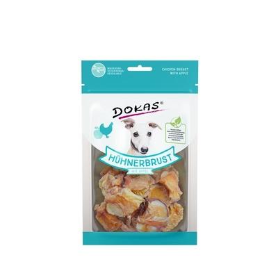 Dokas Hunde Snack Hühnerbrustfilet mit Apfel