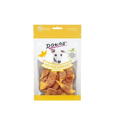 Dokas Hundesnack Hühnerbrustfilet mit Mango