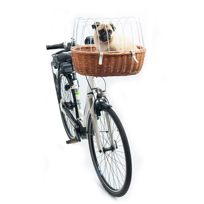 E-Bike Hunde Fahrradkorb Standard vorne