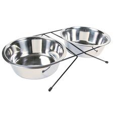 Eat-on-Feet Hunde Napf Set mit Halter