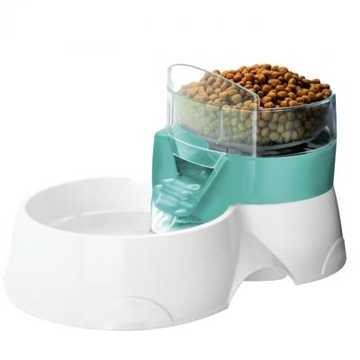 Feeder 2-in-1 Wasser- und Futterspender für Haustiere