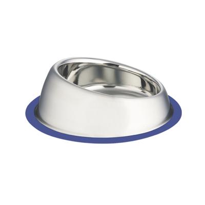 Edelstahlnapf für Hunde SLOPE, rutschfest