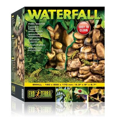 Exo Terra - Wasserfall im Kieselsteindesign