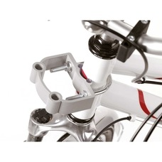 Fahrradkorb Halterung für E-Bikes Steuerkopfmontage