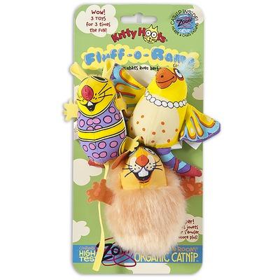 Fat Cat Fluff-O-Rama Katzenspielzeug Set